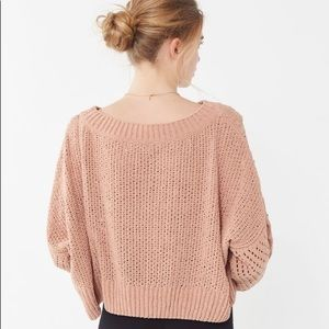 64c68c9f7 Urban Outfitters Sweaters | Rosie Oversized Plush Knit Sweater ...